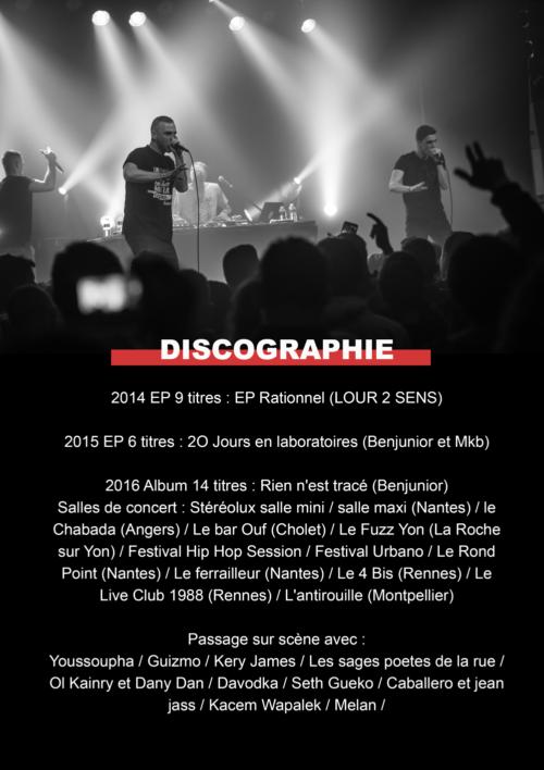 Dossier de presse discographie Benjunior