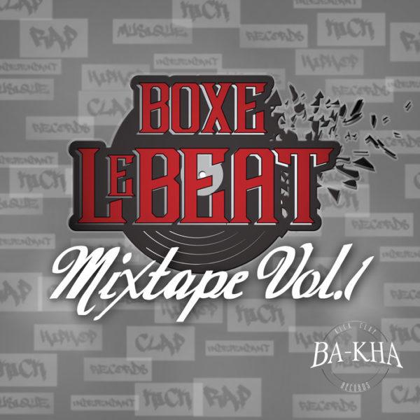 Pochette Mixtape Boxe le beat Vol.1