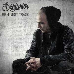 """Pochette d'album Benjunior """"Rien n'est tracé"""""""